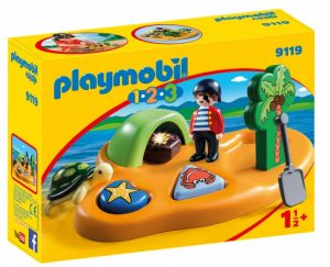 PLAYMOBIL 1,2,3: Pirateneiland (9119) (11.90 EUR)