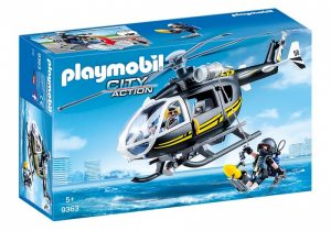 PLAYMOBIL City Action: SIE helikopter zwart (9363) (27.70 EUR)