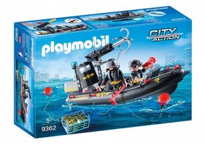 PLAYMOBIL City Action: SIE rubberboot zwart (9362) (29.95 EUR)