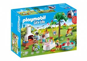 PLAYMOBIL City Life: Familiefeest met barbecue (9272) (25.95 EUR)