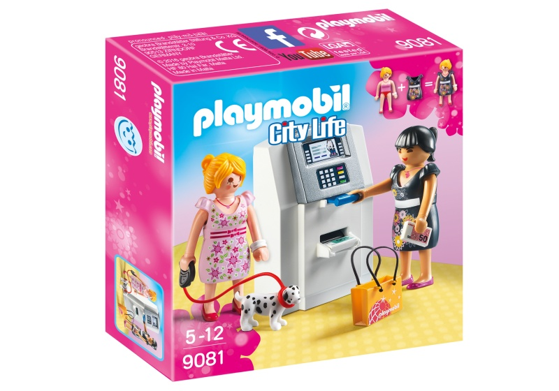 PLAYMOBIL City Life: Geldautomaat (9081)