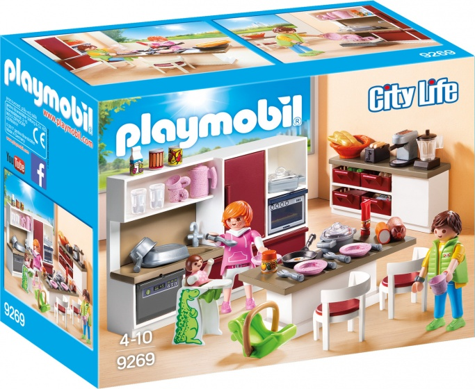 PLAYMOBIL City Life: Leefkeuken (9269)