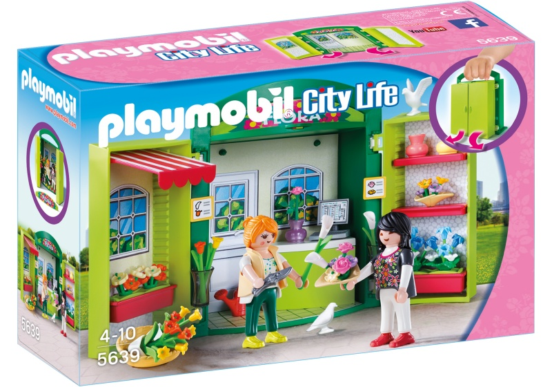 PLAYMOBIL City Life: Speelbox Bloemenwinkel (5639)