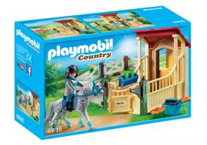 PLAYMOBIL Country Appaloosa met paardenbox (6935) (16.80 EUR)