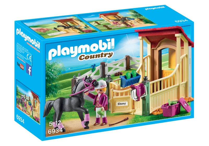 PLAYMOBIL Country Arabier met paardenbox (6934)