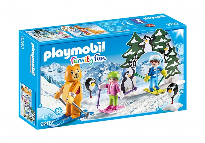 PLAYMOBIL Family Fun: Skischooltje (9282)