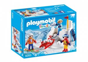 PLAYMOBIL Family Fun: Sneeuwballengevecht (9283) (9.45 EUR)