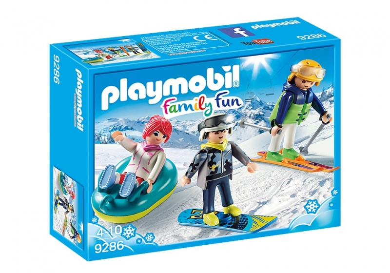PLAYMOBIL Family Fun: Wintersporters (9286)