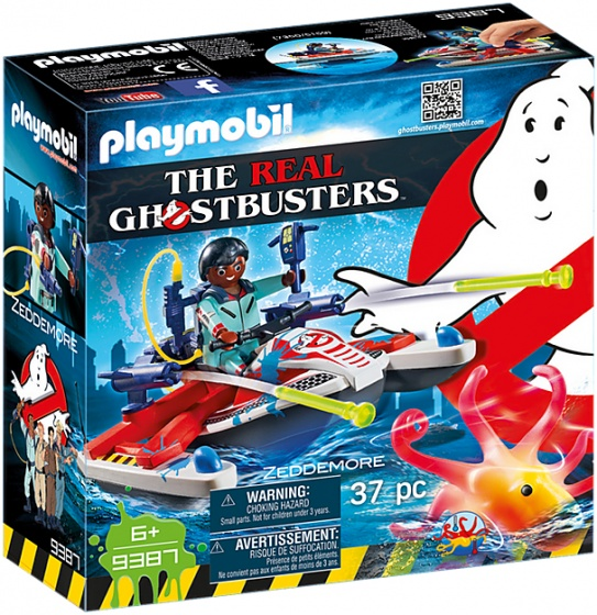 PLAYMOBIL Ghostbusters: Zeddemore met waterscooter (9387)