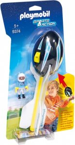 PLAYMOBIL Sport & Action: werpbal met piloot (9374) (9.45 EUR)
