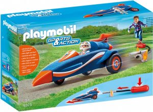 PLAYMOBIL Sports & Action: autoraket met piloot (9375) (19.90 EUR)