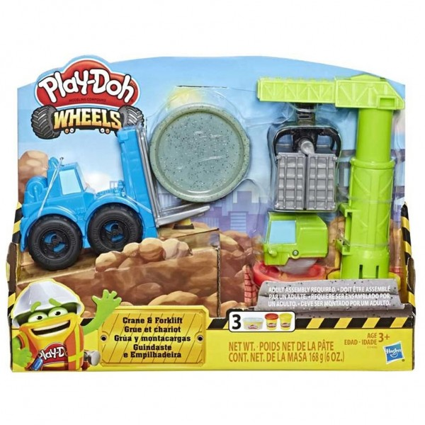 Play-Doh Crane And Forklift