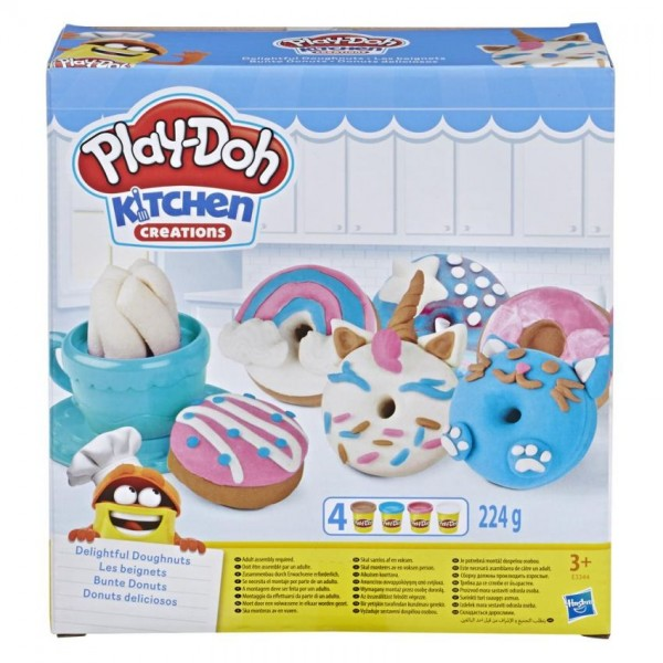 Play-Doh donuts