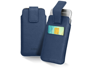 "SBS Cover smartphone pocket XL 5"" Blauw (TEPOCHECARDXLB) (14.99 EUR)"