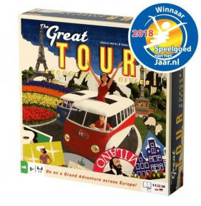 Tactic The Great Tour bordspel (20.45 EUR) 43.00% korting