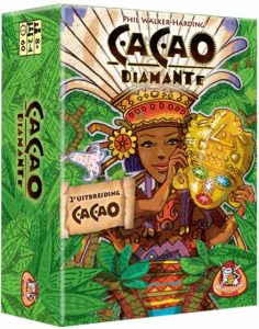 White Goblin Games bordspel CaCao 2e uitbreiding: Diamante (15.45 EUR) 26.00% korting