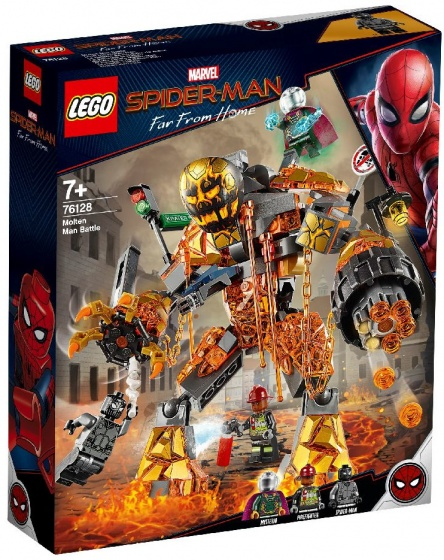 LEGO Heroes: Spider Man far from home Molten Man (76128)