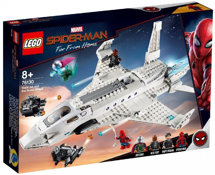 LEGO Heroes: Spider Man far from home straaljager (76130)