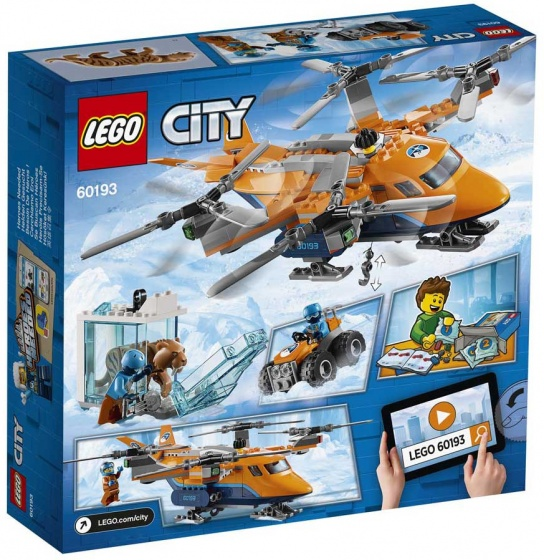 LEGO City: Arctic poolluchttransport (60193)
