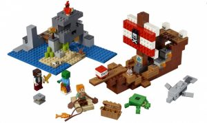 LEGO Minecraft: Piratenschip (21152) ( 52.90 EUR)
