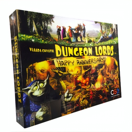 Czech Games Edition Dungeon Lords Happy Anniversary (en)