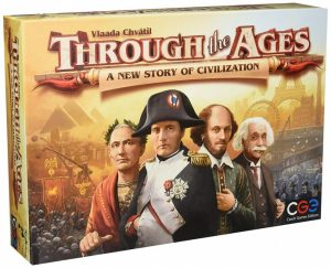 Czech Games Edition gezelschapsspel Through the Ages A New Story of Civlization (en) (44.55 EUR) 26.00% korting