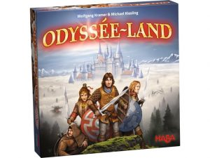 Haba strategiespel Odyssée Land (FR) (25.50 EUR) 66.00% korting