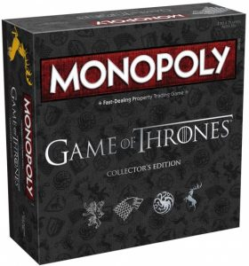Hasbro Monopoly Collector's Edition Game of Thrones (43.85 EUR) 27.00% korting