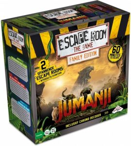 Identity Games Escape Room The Game: Jumanji Family Edition (24.95 EUR) 27.00% korting