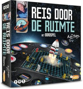 Just Games bordspel Reis door de ruimte met André Kuipers (13.85 EUR) 50.00% korting