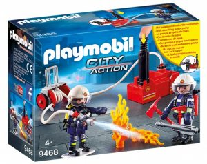 PLAYMOBIL City Action Brandweerteam met waterpomp (9468) (19.90 EUR)
