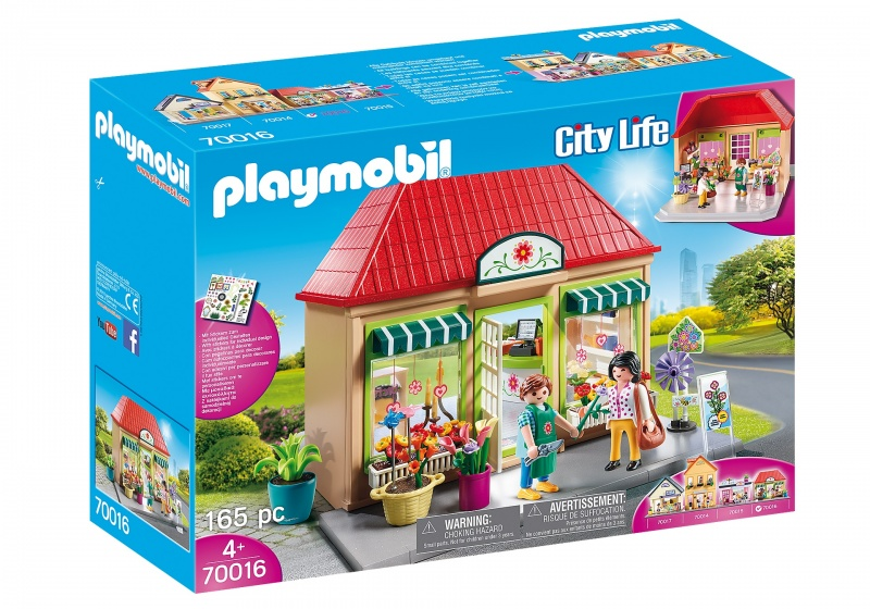 PLAYMOBIL City Life bloemenwinkel (70016)