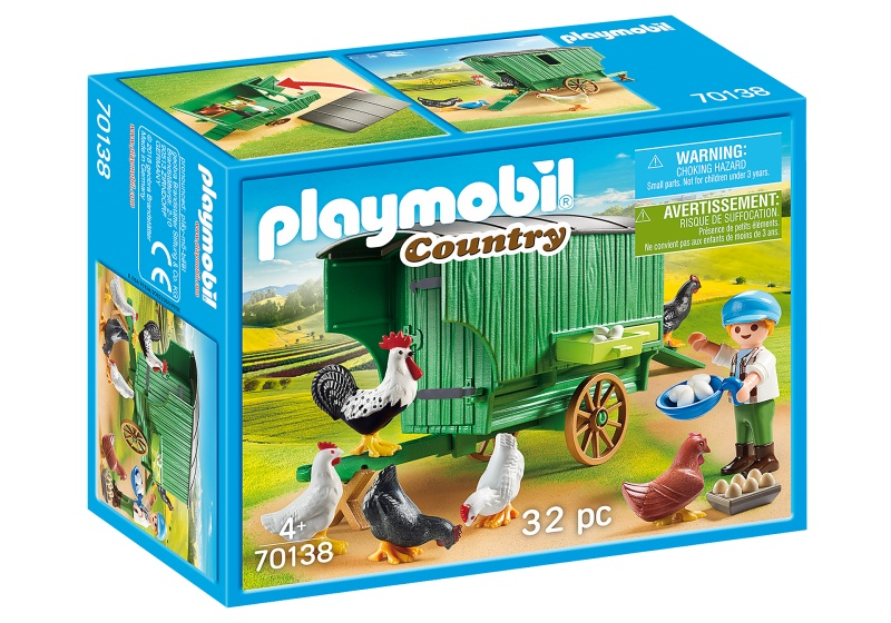 PLAYMOBIL Country Kind met kippenhok (70138)