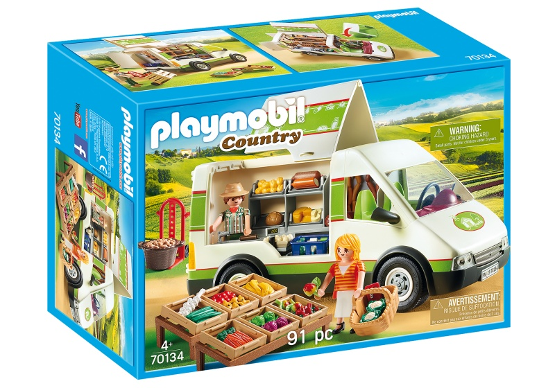 PLAYMOBIL Country Marktkraamwagen (70134)