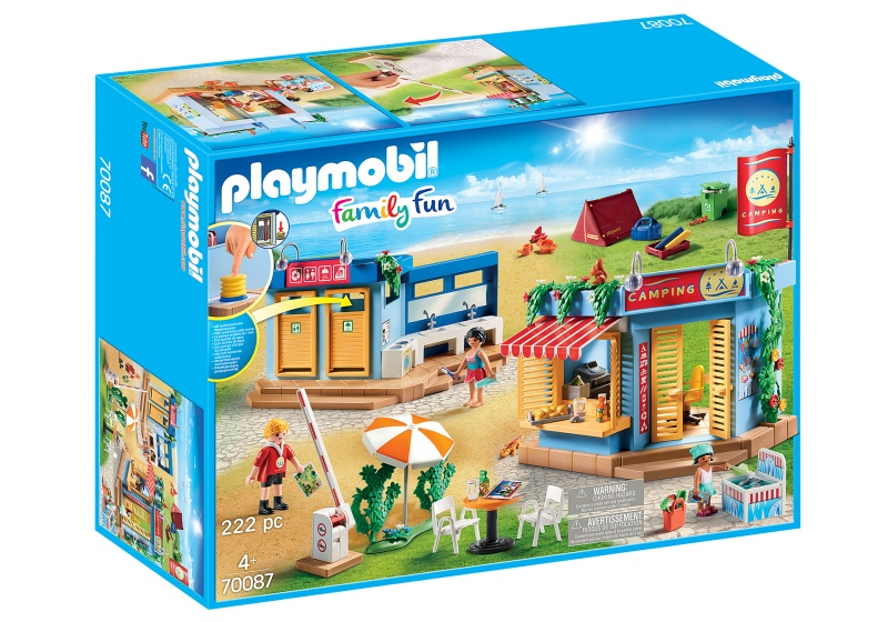 PLAYMOBIL Family Fun Grote camping (70087)
