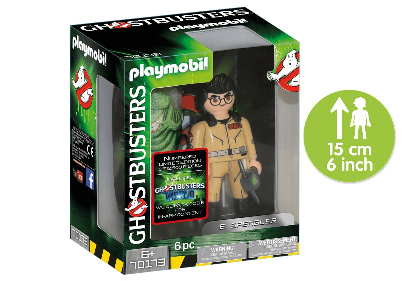 PLAYMOBIL Ghostbusters Collector's Edition E. Spengler (70173)