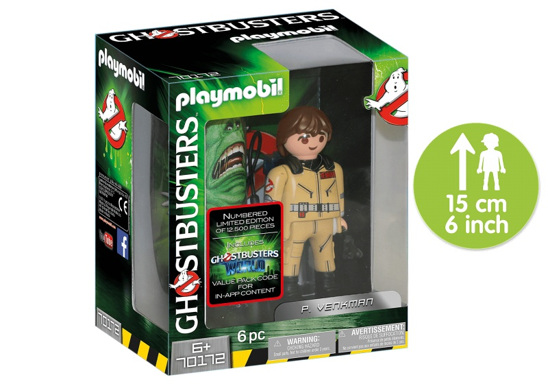 PLAYMOBIL Ghostbusters Collector's Edition P. Venkman (70172)