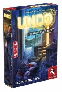 Pegasus Spiele Undo Blood in the Gutter (en) (12.95 EUR) 28.00% korting