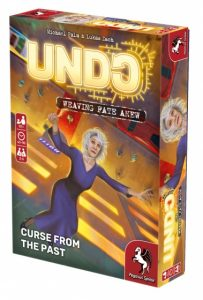 Pegasus Spiele Undo Curse from the Past (en) (12.95 EUR) 28.00% korting