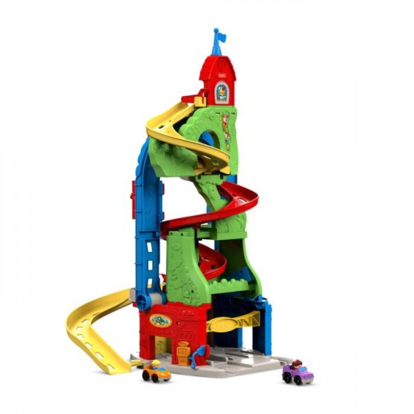 Fisher Price Little People Zit en Sta Racebaan