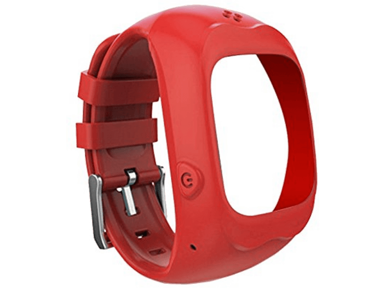 KIDDOO Armband voor smartwatch Rood (KD-SW-WRBD-RED)