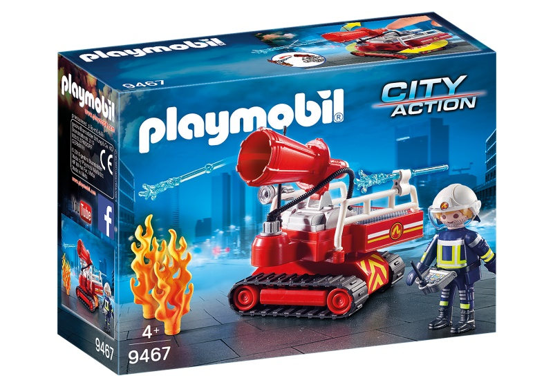PLAYMOBIL City Action Brandweer blusrobot (9467)