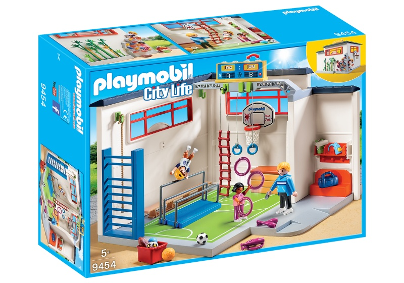 PLAYMOBIL City Life sportlokaal (9454)