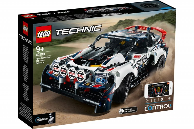 42109 Lego Technic Top Gear Rallyauto met App-Bediening
