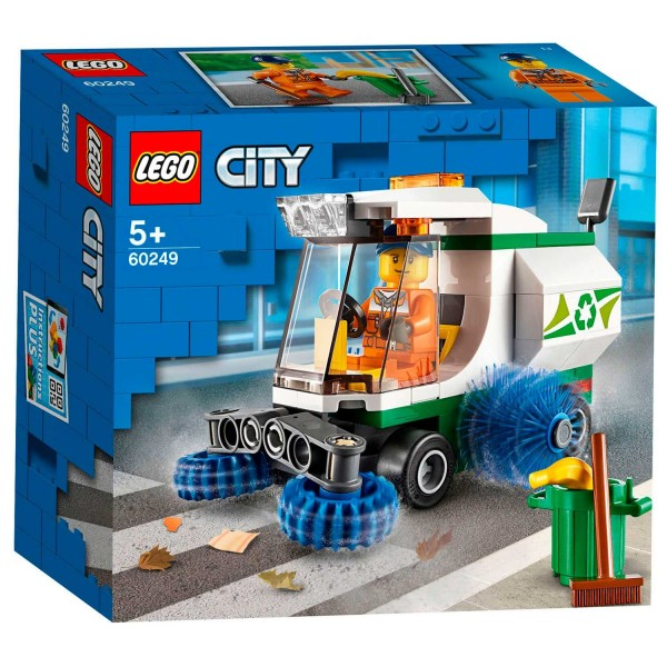 60249 Lego City Straatveegmachine