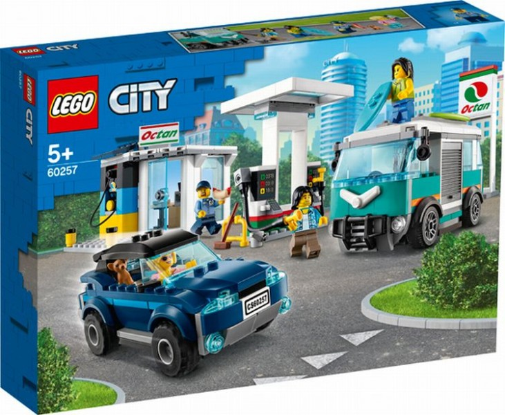 60257 Lego City Benzinestation