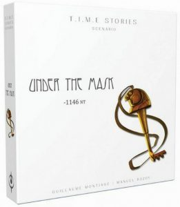 Asmodee uitbreiding T.i.m.e. Stories: Under the Mask (en) (21.95 EUR) 35.00% korting