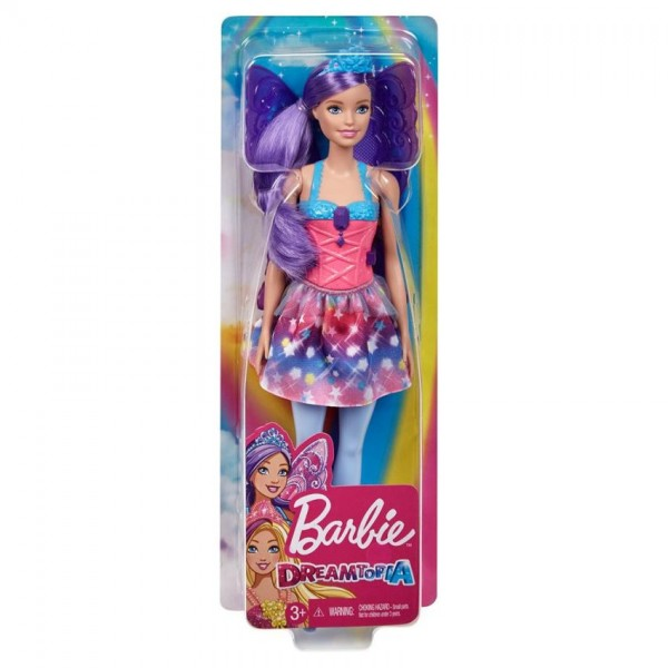 Barbie Dreamtopia Fee Paars