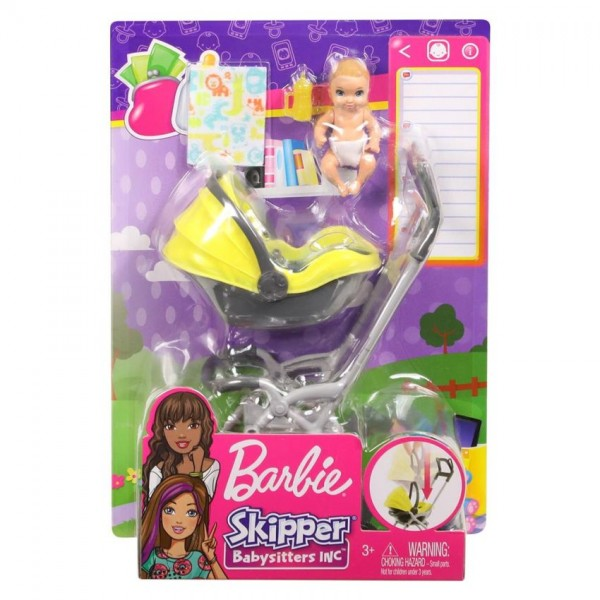 Barbie Skipper Babysitter Speelset