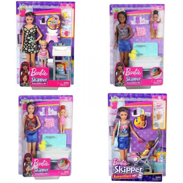 Barbie Skipper Babysitters Speelset